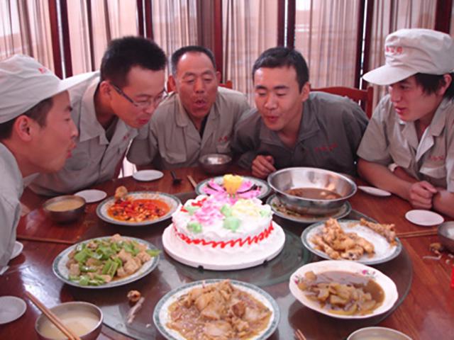 员工集体生日