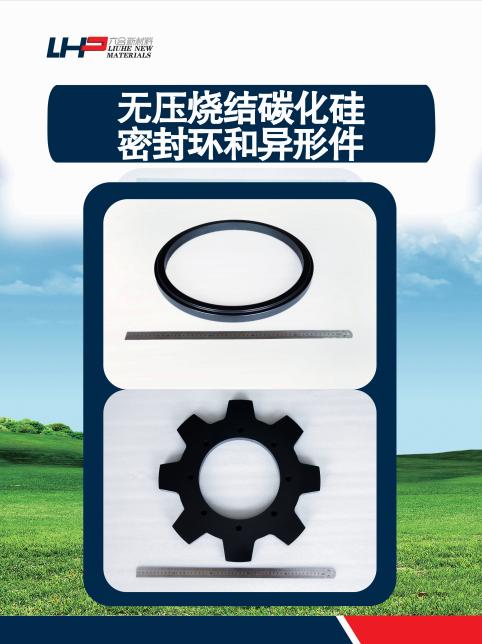 無壓燒結碳化硅密封環和異形件